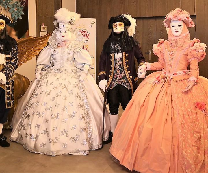 Venedig Maskengruppe